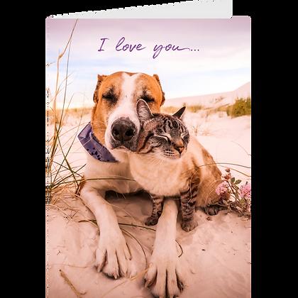 I Love You Greeting Card - #1