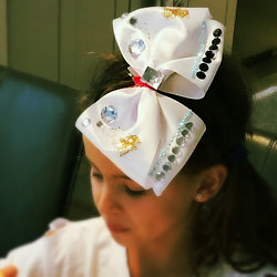 Diy fashion party kits and activity kits diy boutique hair bow kit jojo bow style solutioingenieria Gallery