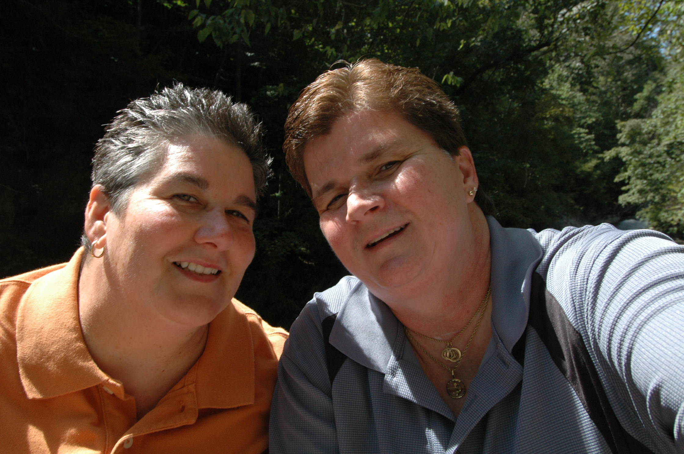 Sharon and Denise