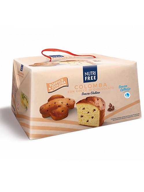 Colomba with chocolate drops gluten free