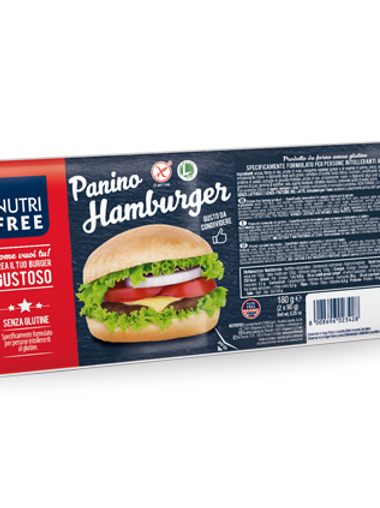 Panino Hamburger gluten-free