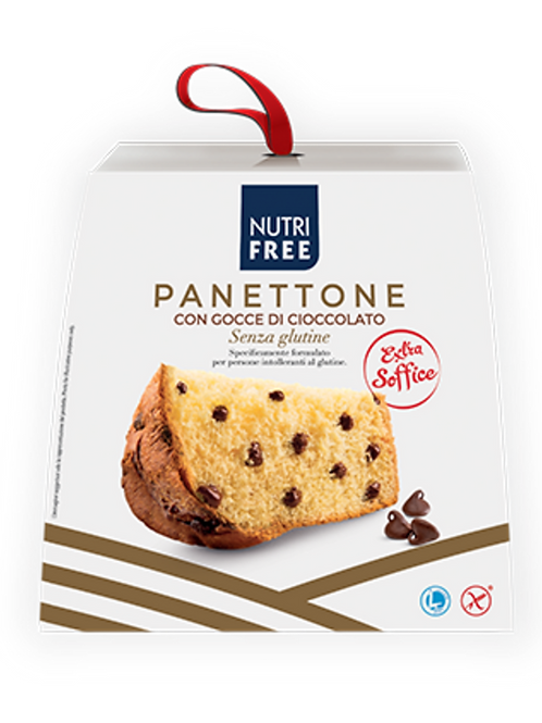 Panettone with chocolate drops gluten-free