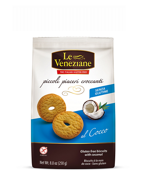 LE VENEZIANE Biscuits with coconut gluten-free