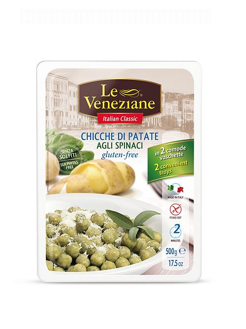 LE VENEZIANE Potato and spinach gnocchi gluten-free