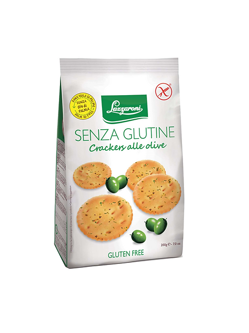 Crackers with olives taste gluten-free