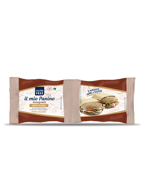 Wholemeal panino gluten free