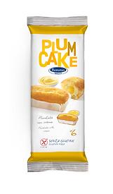 Bononia plumcake with cream gluten free