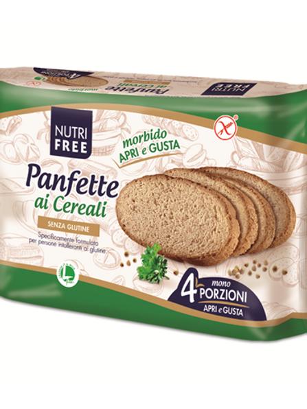 Sliced cereal bread gluten-free