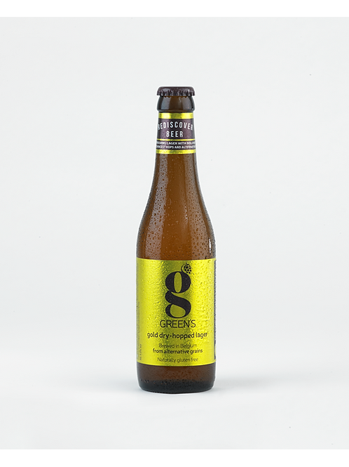 Gold dry-hopped larger gluten-free