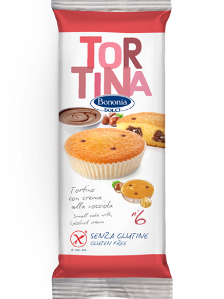 Bononia cake with hazelnut cream gluten free
