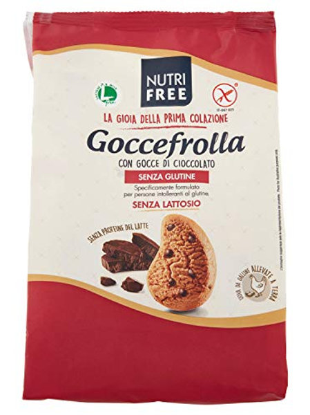 Nutrifree biscuits with chocolate drops gluten-free