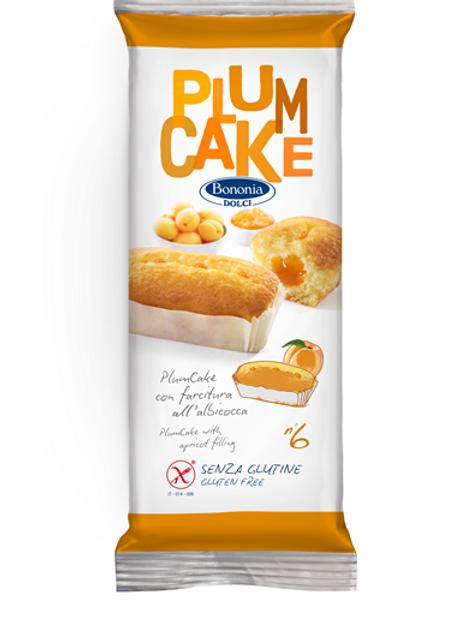 Bononia softcake with apricot filling gluten free