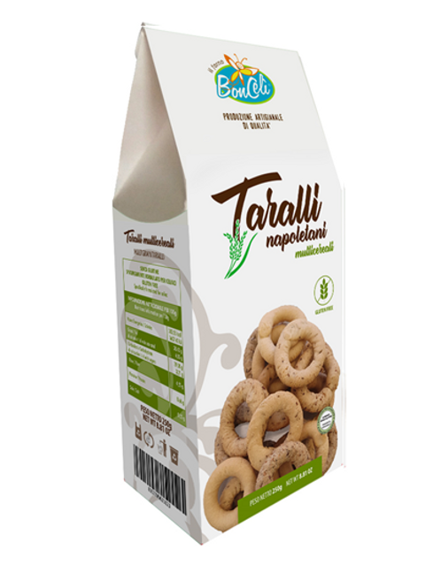 Bonceli multicereal Taralli gluten free
