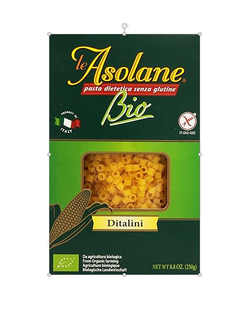 ASOLANE Bio Ditalini gluten-free