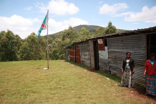 At Mubeshe elementary school