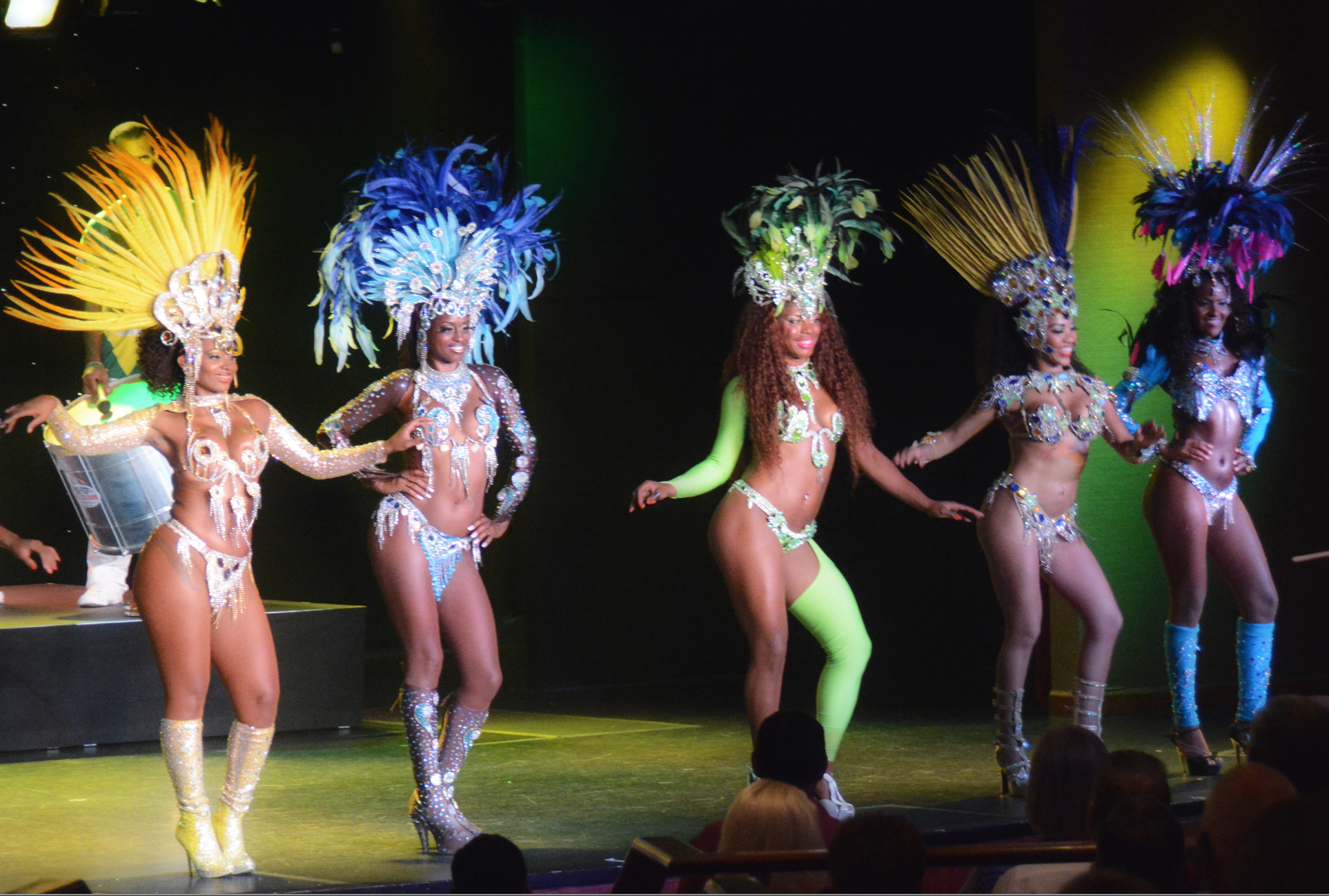 Native Samba Dancers