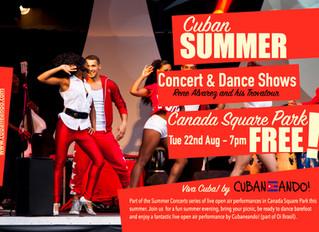 Cuban Summer Concert - Tue 22nd Aug