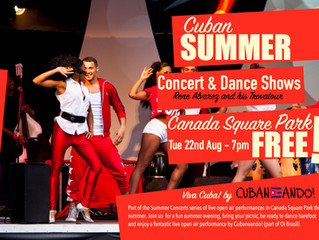 Cuban Summer Concert - Tue 22nd Aug