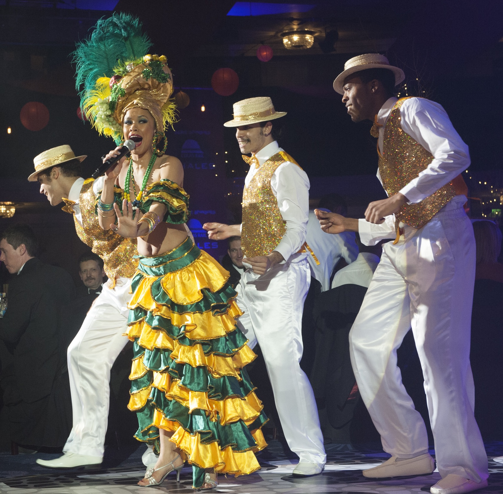 Brazilian & Cuban entertainment | Dance shows | London UK