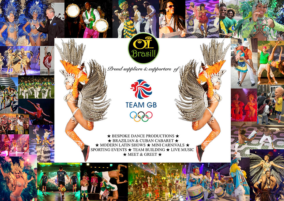 Elite Brazilian & Cuban Dancers in London