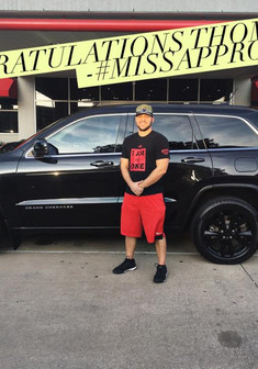 ✨ Here's a shout out to Thomas, congratulating him on his new 2013 Jeep Grand Cherokee!! ✨  Thomas told me he had been searching for the perfect deal on a Grand Cherokee for F O U R months and this was one of the best deals he had found! He drove all of the way from San Antonio to take advantage of our killer deal!   Come see #MissApproval no matter what your situation is! Whether you had perfect credit, no credit, or anything in between - I can help!