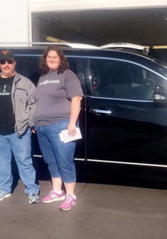 Congratulations to Mr & Mrs Kloss on their 2012 Nissan Quest! They drove all the way from DALE, TX and allowed me the honor of helping them find a newer vehicle to replace their older model Chevrolet Suburban.  I am BEYOND grateful for the opportunity you blessed me with and I hope your Nissan Quest takes you and your family on many adventures and creates lots of amazing memories! 💕  Come see Miss Approval for your next vehicle!