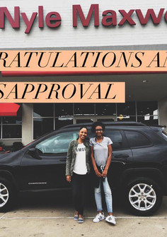 ✨💚✨ CONGRATULATIONS TO Amber on her BRAND NEW 2017 Jeep Cherokee!! ✨💚✨  Amber saw my posts on Facebook and being the AMAZING PERSON she is, she allowed me the opportunity to help her trade in her Chrysler 300! 😍  Congratulations Amber! 🎉🎉🎉 📲 Contact #MissApproval for your next vehicle✨💚✨ CONGRATULATIONS TO Amber on her BRAND NEW 2017 Jeep Cherokee!! ✨💚✨  Amber saw my posts on Facebook and being the AMAZING PERSON she is, she allowed me the opportunity to help her trade in her Chrysler 300! 😍  Congratulations Amber! 🎉🎉🎉 📲 Contact #MissApproval for your next vehicle