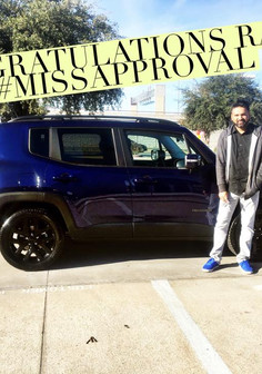 Congratulations on your 2018 Jeep Renegade, Ravi!! 🤗  If you're in the market for a new or pre-owned vehicle, come see #MissApproval, first! I have 60+ five star reviews on Facebook alone for you to see!