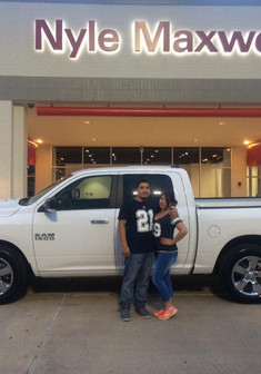 🎉💚🎉 Congratulations to my new friend, Beatriz Hernandez Balderas, who saw my Facebook posts and gave me a chance! 🎉💚🎉  She & her husband came out to see me in search of finding a truck that met their budget. I am proud to say we found the PERFECT truck that EXCEEDED their needs and made the cut!  Come see me for your next vehicle! There is absolutely no need to shop around when I have more options than you even need! New or Pre-Owned, I can help! 📲