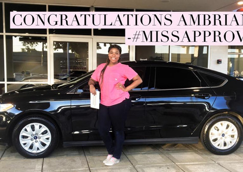 I want to congratulate this lovely lady, AmBriana, on her #FIRSTCAR, a 2014 Ford Fusion S!! 🤗   She came into the dealership to look around and see what options were available AFTER she saved up the down payment 💵 she wanted to put down. After finding out her needs and wants and pairing them with my current inventory - we found the P E R F E C T match! 🚘  Do you know what's even better? 🤔 We didn't need any more money than what she already had! 🔥🔥🔥 Within a few hours we had her APPROVED ✅ and she drove away in a 💥Ford Fusion 💥!  📲 There is no reason to HESITATE! I have OVER 100+ positive reviews from people NEAR YOU! Set your appointment today! I want YOU to be my next success story!I want to congratulate this lovely lady, AmBriana, on her #FIRSTCAR, a 2014 Ford Fusion S!! 🤗   She came into the dealership to look around and see what options were available AFTER she saved up the down payment 💵 she wanted to put down. After finding out her needs and wants and pairing them with my current inventory - we found the P E R F E C T match! 🚘  Do you know what's even better? 🤔 We didn't need any more money than what she already had! 🔥🔥🔥 Within a few hours we had her APPROVED ✅ and she drove away in a 💥Ford Fusion 💥!  📲 There is no reason to HESITATE! I have OVER 100+ positive reviews from people NEAR YOU! Set your appointment today! I want YOU to be my next success story!I want to congratulate this lovely lady, AmBriana, on her #FIRSTCAR, a 2014 Ford Fusion S!! 🤗   She came into the dealership to look around and see what options were available AFTER she saved up the down payment 💵 she wanted to put down. After finding out her needs and wants and pairing them with my current inventory - we found the P E R F E C T match! 🚘  Do you know what's even better? 🤔 We didn't need any more money than what she already had! 🔥🔥🔥 Within a few hours we had her APPROVED ✅ and she drove away in a 💥Ford Fusion 💥!  📲 There is no reason to HESITATE! I have OVER 100+ positive reviews from people NEAR YOU! Set your appointment today! I want YOU to be my next success story!I want to congratulate this lovely lady, AmBriana, on her #FIRSTCAR, a 2014 Ford Fusion S!! 🤗   She came into the dealership to look around and see what options were available AFTER she saved up the down payment 💵 she wanted to put down. After finding out her needs and wants and pairing them with my current inventory - we found the P E R F E C T match! 🚘  Do you know what's even better? 🤔 We didn't need any more money than what she already had! 🔥🔥🔥 Within a few hours we had her APPROVED ✅ and she drove away in a 💥Ford Fusion 💥!  📲 There is no reason to HESITATE! I have OVER 100+ positive reviews from people NEAR YOU! Set your appointment today! I want YOU to be my next success story!I want to congratulate this lovely lady, AmBriana, on her #FIRSTCAR, a 2014 Ford Fusion S!! 🤗   She came into the dealership to look around and see what options were available AFTER she saved up the down payment 💵 she wanted to put down. After finding out her needs and wants and pairing them with my current inventory - we found the P E R F E C T match! 🚘  Do you know what's even better? 🤔 We didn't need any more money than what she already had! 🔥🔥🔥 Within a few hours we had her APPROVED ✅ and she drove away in a 💥Ford Fusion 💥!  📲 There is no reason to HESITATE! I have OVER 100+ positive reviews from people NEAR YOU! Set your appointment today! I want YOU to be my next success story!I want to congratulate this lovely lady, AmBriana, on her #FIRSTCAR, a 2014 Ford Fusion S!! 🤗   She came into the dealership to look around and see what options were available AFTER she saved up the down payment 💵 she wanted to put down. After finding out her needs and wants and pairing them with my current inventory - we found the P E R F E C T match! 🚘  Do you know what's even better? 🤔 We didn't need any more money than what she already had! 🔥🔥🔥 Within a few hours we had her APPROVED ✅ and she drove away in a 💥Ford Fusion 💥!  📲 There is no reason to HESITATE! I have OVER 100+ positive reviews from people NEAR YOU! Set your appointment today! I want YOU to be my next success story!I want to congratulate this lovely lady, AmBriana, on her #FIRSTCAR, a 2014 Ford Fusion S!! 🤗   She came into the dealership to look around and see what options were available AFTER she saved up the down payment 💵 she wanted to put down. After finding out her needs and wants and pairing them with my current inventory - we found the P E R F E C T match! 🚘  Do you know what's even better? 🤔 We didn't need any more money than what she already had! 🔥🔥🔥 Within a few hours we had her APPROVED ✅ and she drove away in a 💥Ford Fusion 💥!  📲 There is no reason to HESITATE! I have OVER 100+ positive reviews from people NEAR YOU! Set your appointment today! I want YOU to be my next success story!