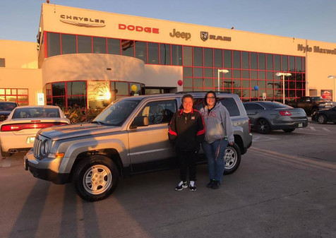 "🎉 PLEASE LIKE TO CONGRATULATE Chantell on her BRAND NEW 2017 Jeep Patriot! 🎉  👉🏽 Chantell was told that if she came to Nyle Maxwell Supercenter ""it won't be for nothing"" and she would leave in a vehicle!  🙌🏽 I am SO HAPPY to prove, AGAIN, that we work miracles!  ⁉️ If you need a vehicle, there is NO REASON to shop elsewhere. With over 300 Pre-Owned vehicles AND triple that in new inventory, I have more than enough options to get you into your perfect vehicle.  📲Call or text me TODAY and let's get you into a vehicle!"