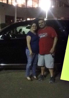 ✨🙌🏽✨ Andddd another happy ending! CONGRATULATIONS TO THE LOPEZ'S ON THEIR BRAND NEW 2017 DODGE JOURNEY! ✨🙌🏽✨  Mr & Mrs Lopez were referred to me and drove ALL THE WAY from Corpus Christi!! 😲😲  I am SO HONORED ☺️ for the opportunity!  Come see #MissApproval