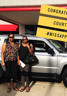 ✨🎉 CONGRATULATIONS Courtney on your 2017 Jeep Patriot! 🎉✨  Courtney saw my posts on Facebook, took a leap of faith, and drove down from KILLEEN to let us work our magic!  She told me she thought she would end up with a 2013-2014 vehicle 🍀 but NEVER imagined a 2017 was in her near future! ✨🙌🏽  I am so happy for you, Courtney! I truly appreciate your trust in me!  Call #MissApproval ✨🎉 CONGRATULATIONS Courtney on your 2017 Jeep Patriot! 🎉✨  Courtney saw my posts on Facebook, took a leap of faith, and drove down from KILLEEN to let us work our magic!  She told me she thought she would end up with a 2013-2014 vehicle 🍀 but NEVER imagined a 2017 was in her near future! ✨🙌🏽  I am so happy for you, Courtney! I truly appreciate your trust in me!  Call #MissApproval ✨🎉 CONGRATULATIONS Courtney on your 2017 Jeep Patriot! 🎉✨  Courtney saw my posts on Facebook, took a leap of faith, and drove down from KILLEEN to let us work our magic!  She told me she thought she would end up with a 2013-2014 vehicle 🍀 but NEVER imagined a 2017 was in her near future! ✨🙌🏽  I am so happy for you, Courtney! I truly appreciate your trust in me!  Call #MissApproval