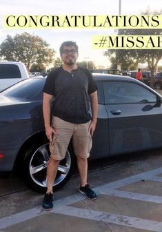 Dangggggg, Daniel! 🙌🏽😂 I am so happy to send a shout of #CONGRATULATIONS out to Daniel!   We worked together for two weeks, went over pros/cons of the two vehicles he was torn between, and then traveled 300 miles to pick up his sweet ride! #BOOM!   If I don't have the vehicle you are looking for whether it's color or trim level (Note: new vehicles only), I can FIND it for you! 💙💚  Come see, #MissApproval, for your next vehicle!
