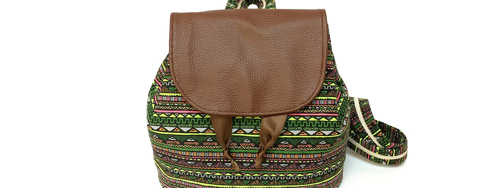 Sac à dos, sac artisanal, sac décontracté, bagage à main, sac ethnique  - Maya