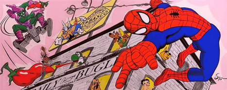 Spidey POP 24x60