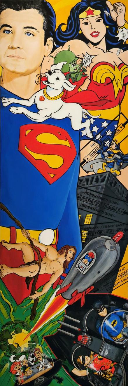 Superman, it's not easy