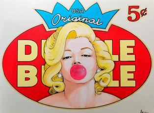 Marilyne fait des bulles