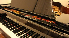 Piano cabinet finishes