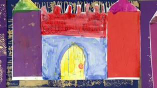 Texture Castles with Kinders