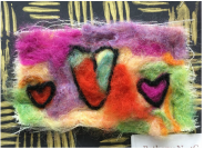 We Felted and Survived!