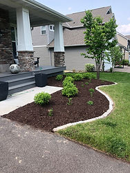 New landscaping