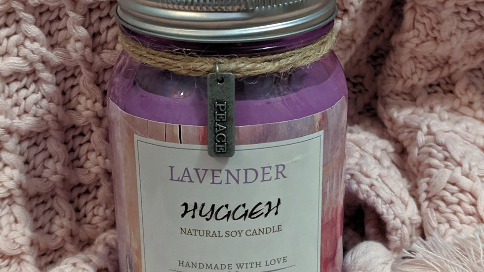 Hyggeh Lavender Soy Candle