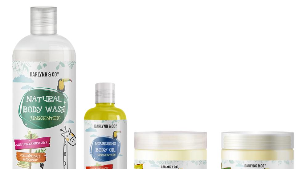 Unscented Skincare Gift Set