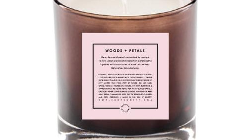Soy Candle | Woods + Petals