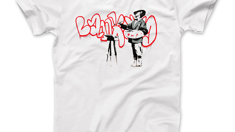 Banksy the Painter (Velasquez) From Portobello Road T-Shirt