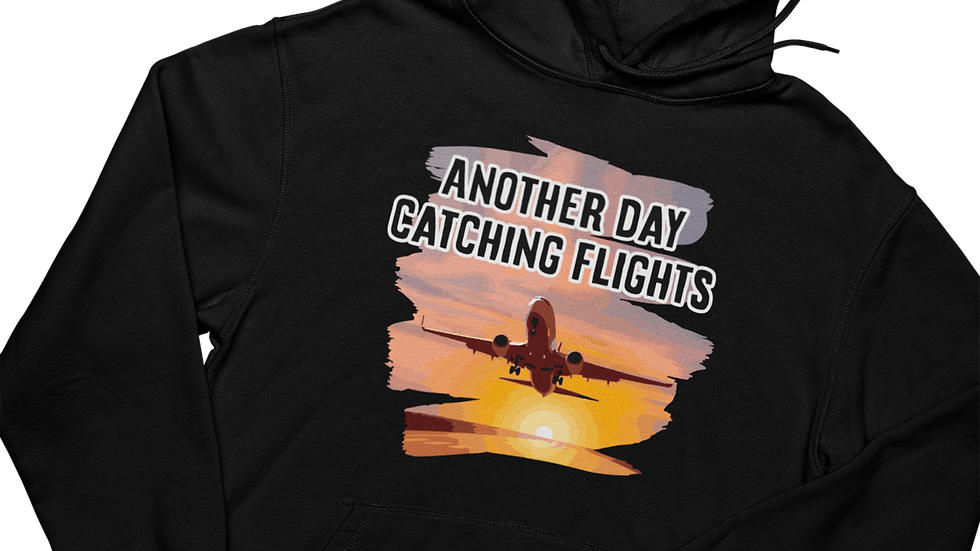 Catching Flights - Hoodie