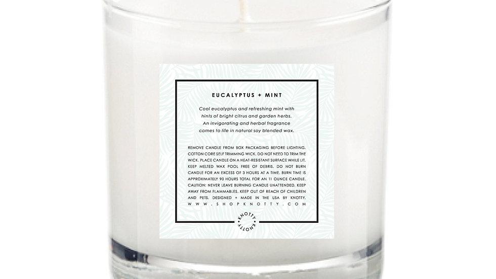 Soy Candle | Eucalyptus + Mint