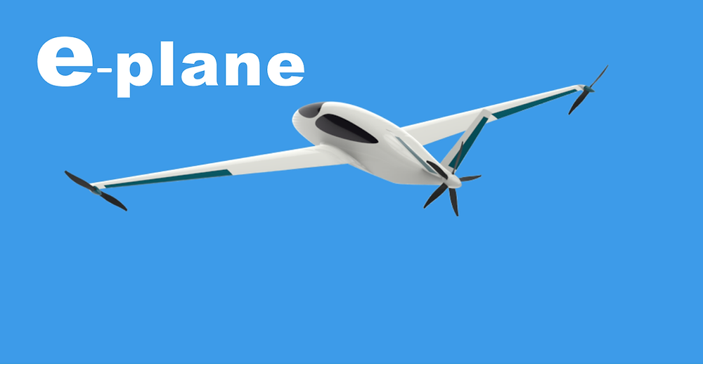An all-electric aircraft for sustainable and environment-friendly aviation