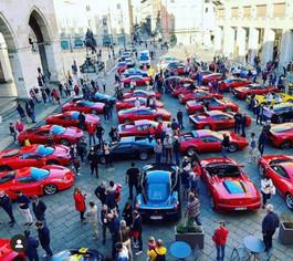Ferrari in tour